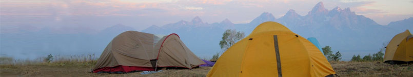 Camping in Wyoming with SOAR - adventure summer camp for kids with ADHD